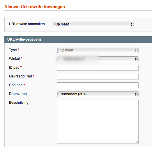 Redirects Magento