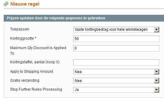 Kortingscodes in Magento aanmaken